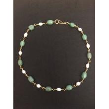 Collar Perlas Pompeya