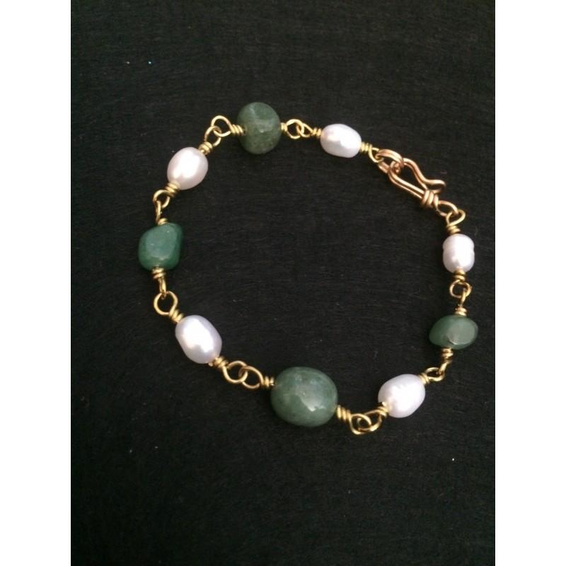Pulsera Perlas Pompeya