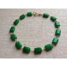 Collar Al Fayum verde
