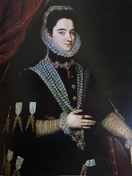 Anónimo, Dama (1585), Museo del Prado
