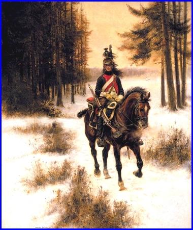 Cuadro de Édouard Dataille, Dragon del 2º regimiento