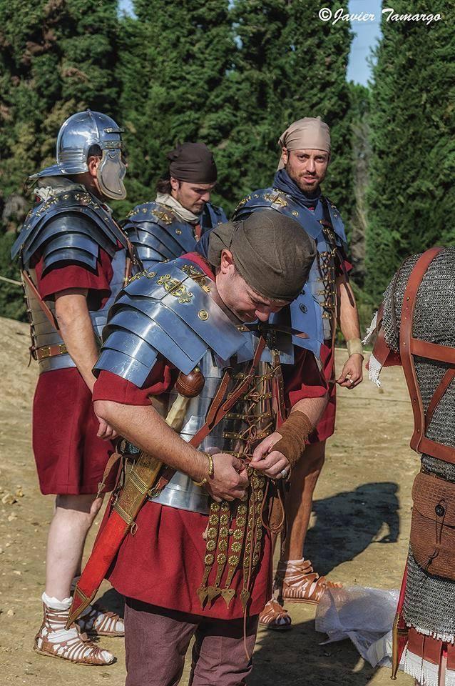 Legionario de época de Adriano.