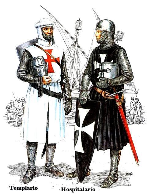 Templario y Hospitalario