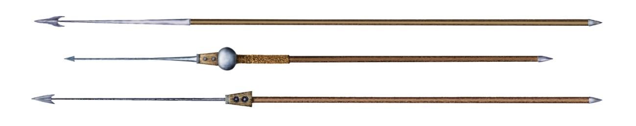 Pila siglos I (inferior), II (medio) y III d.C. (superior)