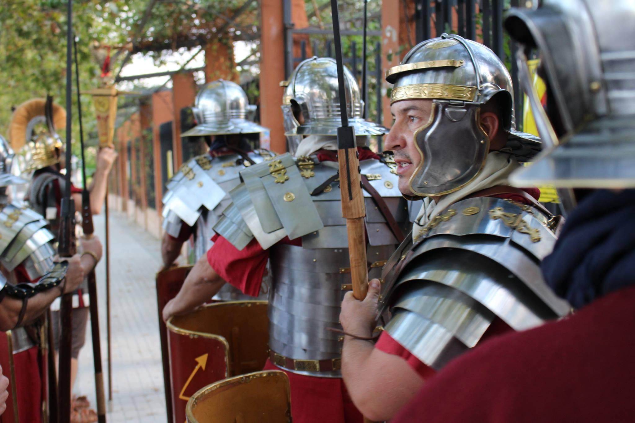 Pilum romano cuadrado