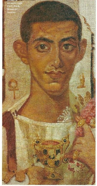 Retrato de Ammonius, Museo del Louvre