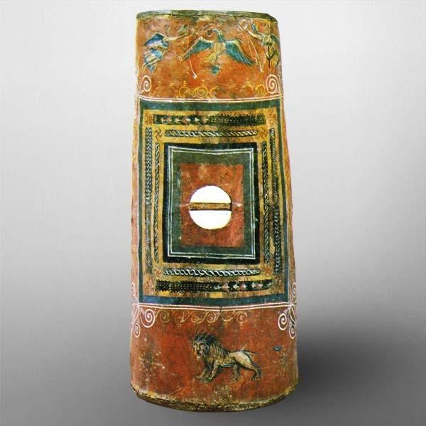 Escudo romano Dura Europos